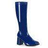 GOGO-300 Navy Blue Patent